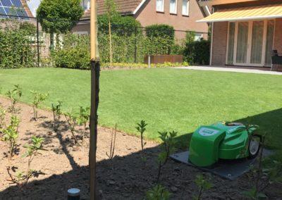 Aanleg voor en achter tuin